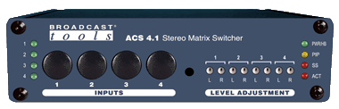 ACS 4.1 – Stereo Matrix Switcher