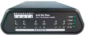 2×6 DA Plus – Distribution Amplifier
