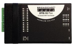 DTD-16 Plus – 16 Channel DTMF Tone Decoder