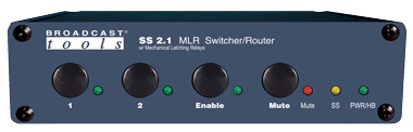 SS 2.1 MLR/BNC – Switcher/Router