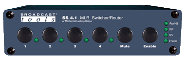SS 4.1 MLR – Switcher/Router