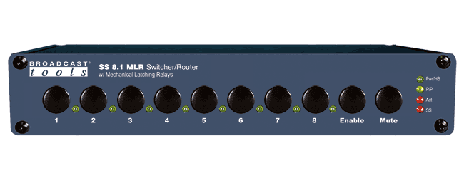 SS 8.1 MLR – Switcher/Router